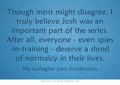 My Gallagher Girls Confessions - Confession #4