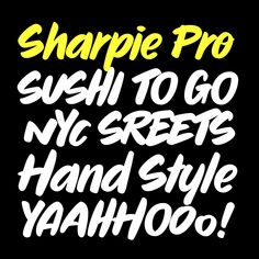 Sharpie Pro – Typeverything