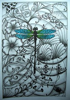 Dragonflies for good luck