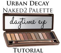 urban decay naked2 palette daytime tutorial soft golden glimmer