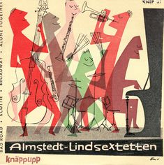Sweden 1950s  The EP albums - EP 1957