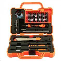 $28.87 (Buy here: https://alitems.com/g/1e8d114494ebda23ff8b16525dc3e8/?i=5&ulp=https%3A%2F%2Fwww.aliexpress.com%2Fitem%2F45-in1-Electronics-Repair-Tools-Set-Kit-Multi-Bits-Screwdriver-Set-with-Tweezers-Spudger-for-Laptop%2F32690503959.html ) 45 in1 Electronics Repair Tools Set Kit Multi Bits Screwdriver Set with Tweezers Spudger for Laptop Cellphone Tablet Repair Tool for just $28.87