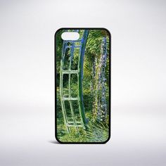 Claude Monet - Bridge Over A Pond Of Water Lilies Phone Case