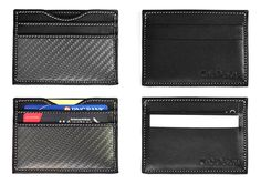 Using the highest quality full grain leather and aerospace grade carbon fiber, we developed the world's first no-compromise wallets.