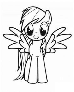 Guarda tutti i disegni da colorare di My Little Pony www.bambinievacanze.com