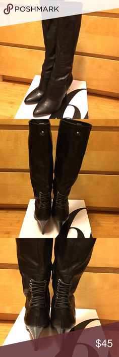 Selling this Nine West Nwskylah Black Boot on Poshmark! My username is: leanneiv. #shopmycloset #poshmark #fashion #shopping #style #forsale #Nine West #Shoes