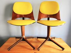 Plycraft Task Chairs designed by George Mullhauser from the 1950s-60s