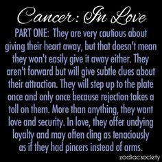 Zodiac Cancer Quotes Love. QuotesGram
