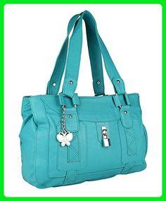 433d7ff87f18 Butterflies Women Designer Casual Purse Faux Leather Shoulder Handbag Tote  - Shoulder bags ( Amazon