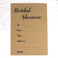Free printable bridal shower invitations and matching straw flags