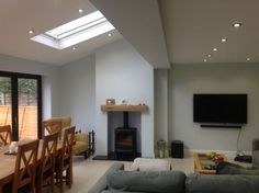 false chimney breast for electric stove - Google Search