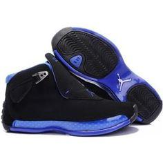Air Jordan 18 - purple Air Jordan 18 www.asneakers4u.com 305869 107 Air Jordan 18 Original OG Women Black Blue A24004 ...