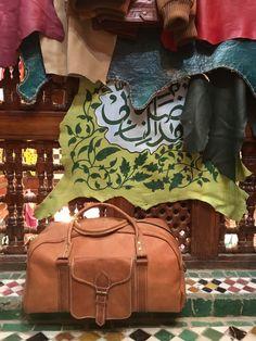 Beautiful leather work at a tannery.  #morocco #fes #fez #kingdom #medina #architecture #adventure #backpacking #travelblog #arabic #roadtrip #maroc #marrakech #skyline #ancient #history #leather #fashion #mensfashion #design #decor #arabic #art #handmade #organic