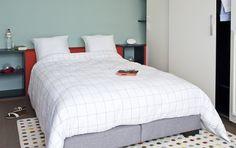 Een slaapkamer hoeft helemaal niet saai te zijn