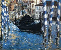 Edouard Manet, Blue Venice, 1875