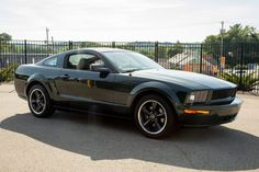 For Sale: 2009 Ford Mustang Bullitt (Dark Highland Green, 4.6L V8, 5-speed, 24K miles) 2009 Ford Mustang, Ford Mustang Bullitt, Ford Mustangs, Mustang For Sale, Limited Slip Differential, Aluminum Wheels, Classic Cars Online, Manual Transmission, Auction