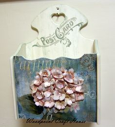 Home Crafts, Easy Crafts, Diy And Crafts, Arts And Crafts, Arte Country, Pintura Country, Decoupage Box, Decoupage Vintage, Lace Painting