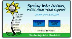 Spring into Action ~ WCBE Needs YOUR Support