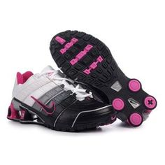 d8f162f37cac Nike Shox NZ Women Shoes black gray white pink Nike Shox For Women