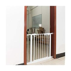 Teekland-75-82CM-Indoor-Gate-Fence-Portable-Free-of-Punch-Baby-Gate-White-for-Stairs Indoor Gates, Baby Gates, Kids Zone, Fence, Stairs, Home Appliances, Babies Stuff, Ss, Language
