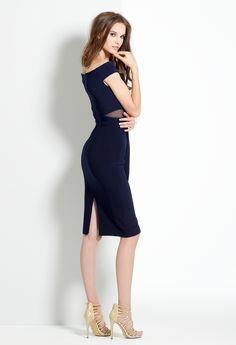 Jersey Midi Short Dress #camillelavie