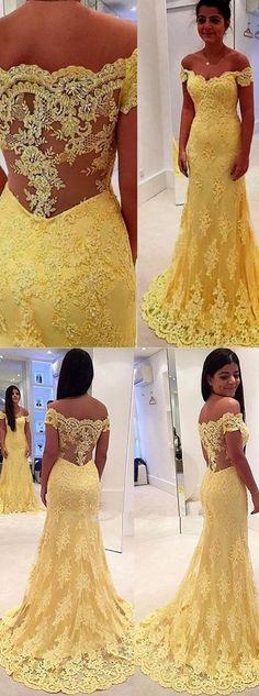 prom dress,prom dresses,long prom dress,yellow prom dress,elegant prom dress,sexy prom dress,cheap prom dress,off the shoulder prom dress,