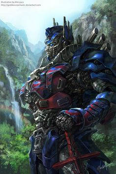 Optimus prime fan art by GoddessMechanic on deviantART - Age of Exticntion artwork AWESOME Transformers Characters, Transformers Bumblebee, Transformers Optimus Prime, Gundam, Fan Art, Anime, Robots, Knight, Transformers Collection