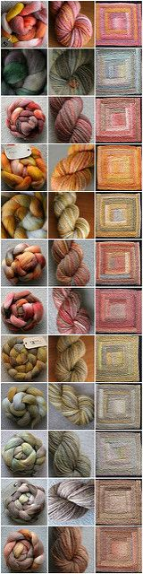 Ravelry: Chriss' Spinning in Squares