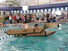 MIT's Annual Cardboard Boat Regatta - YouTube