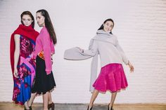 Thakoon Fall 2014 RTW - Backstage - Photographed by Kevin Tachman