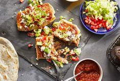 Pati Jinich » Beef, Potato and Anaheim Chimichanga