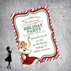 Free Christmas Invitation Templates Printable Christmas Party Invitations Free Templates House Ideas .