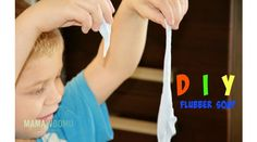 flubber soap / maka ziemniaczana i mydlo w plynie Play Doh, Soap, Youtube, Diy, Home Decor, Decor Ideas, Decoration Home, Bricolage, Room Decor