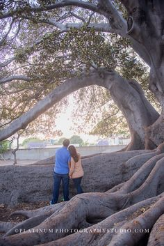 Ashton & Ivan :: Santa Barbara Engagement Portraits