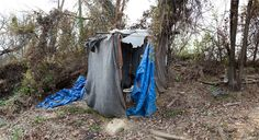 PHOTOS OF BALTIMORE HOMELESS CAMPS HIDDENJUST OUT OF SIGHT