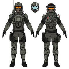 Armor Concept, Weapon Concept Art, Marine Corps Emblem, Halo Armor, Halo Spartan, Halo Game, Sci Fi Armor, Military Armor, Zombie Girl