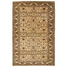 4' x 6'4 One-of-a-kind, hand-knotted, vintage to antique Turkish Kayseri carpets, available at WWW.RUGANDRELIC.COM.
