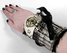 EDM Designs Creates Eccentric Victorian & Steampunk Accessories