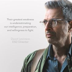 """""""Understanding space is our first line of defense."""" - David Levinson"""