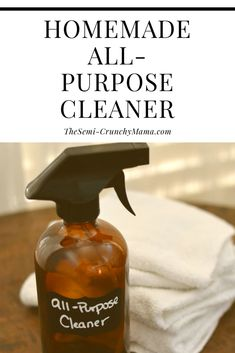Looking for an all-purpose cleaner that can clean just about anything, that is natural, safe, eco-friendly and frugal? Check out this homemade all-purpose cleaner!