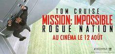 Mission: impossible - Rogue Nation film de Christopher McQarrie avec Tom Cruise, Simon Pegg, Jeremy Renner, Rebecca Ferguson. MI-5 le…