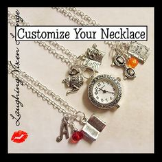 Custom Book Necklace - Book Jewelry - Book Lovers Charm Necklace - Reading Necklace - Library Necklace - Book Pendant by LaughingVixenLounge on Etsy https://www.etsy.com/listing/207145739/custom-book-necklace-book-jewelry-book