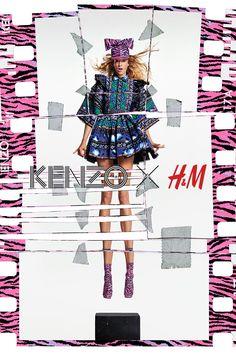 99e5d50c1 8 Best KENZO x HM images | Clothing, Man fashion, Fashion sets