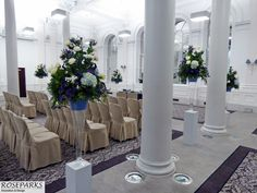 Wedding ceremony flowers. Event venue #PrincipalEdinburgh
