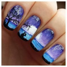 amazing nail art | See more at http://www.nailsss.com/... | See more nail designs at http://www.nailsss.com/nail-styles-2014/