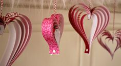 So if you have been around here for awhile you probably have noticed that I love holidays…really L-O-V-E holidays! We have lots of projects coming up, so I think Hoosier Homemade will definitely be your go to spot for Valentine's Day! Let's get this party started with these adorable Paper Hearts! Oh and…besides loving holidays, …
