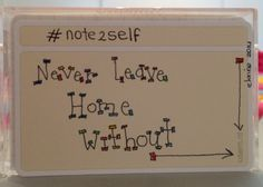Note2self