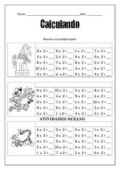 Multiplicação - Atividades Adriana