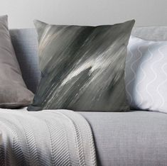 The Icing accent pillow will add the perfect touch of Beautiful modern decor to your ideal l. Neutral Gray Paint, Grey Paint, Luxury Home Decor, Luxury Homes, Luxury Throws, Design Studio, The Perfect Touch, Paint Designs, Artwork Prints