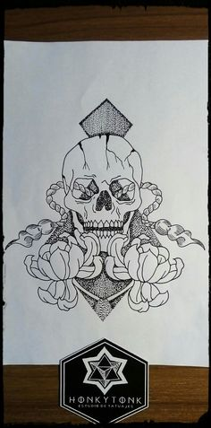 Honky Tonk tatuajes diseño by Mario Franco
